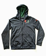 NIKE Therma-Fit Chain Link Hoodie Miami Hurricanes Football Men's Small ... - $38.69