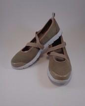 Propet Womens Shoes W3242 Travelwalker Mary Jane Tan Mesh Diabetic 9M Ca... - $24.18
