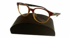 Prada Women's Brown Yellow Glasses with case VPR 10U NKO-1O1 54mm - $185.99