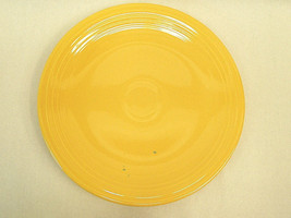 "Vintage Old Fiesta Ware 15"" Chop Plate YELLOW Homer Laughlin China 1930'... - $24.75"
