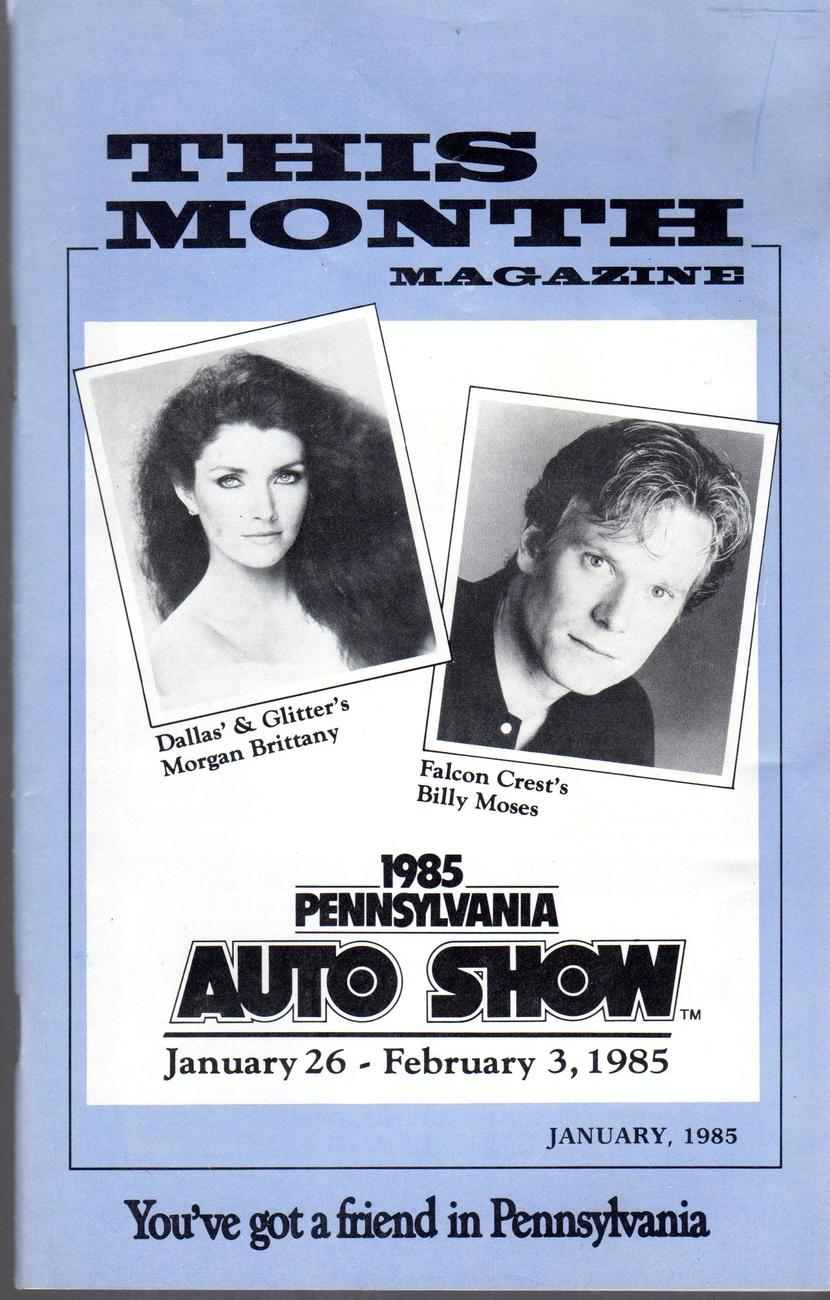 Pennsylvania - The Month Magazine 1/26 to 2/3/1985