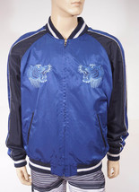 Polo Ralph Lauren Blue 722 Air Base Wing Airborne Division Bomber Jacket $495 - $179.99