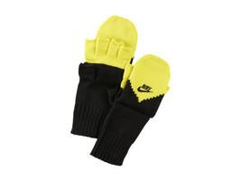 NIKE Sports UNISEX Fingerless Gloves Mitten Convertible Size L/XL - $285,53 MXN
