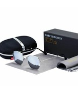Sunglasses Classic Mirror Man Glasses Metal Frame Oval Sunnies Polarized UV400 - $32.16 CAD
