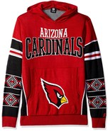 NFL Klew Arizona Cardinals Big Logo Hooded Sweater - $54.95