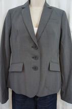 Anne Klein Platinum Anzug Trennt Jacke 8 Dunkel Stein Grau Klassik Blazer - $59.35
