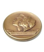Old Salvation Army Bronze Coin Medallion Medallic Art Co. - $17.50