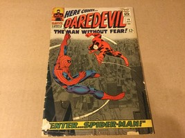 DAREDEVIL #16 Comic Book 1965 w/ Spider-Man  - $35.00
