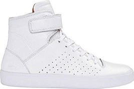 Lacoste Women's Tamora Hi 116 2 High Top Sneaker,white Leather (7)