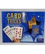 Card Tricks Set Parragon Book 2 Decks Cards in Original Box Home Time Ch... - £19.67 GBP