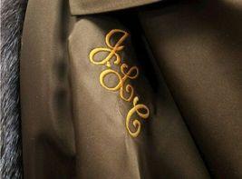 Vintage Authentic Christian Dior Fourrure Brown Fur Coat Size Unknown image 7