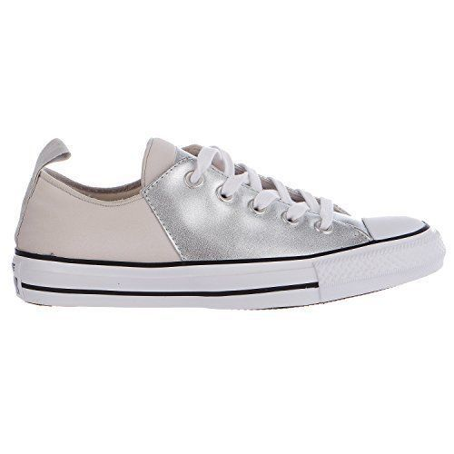 Converse Womens Chuck Taylor All Star Abbey Ox Low Mouse/Black/White 555836C