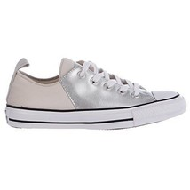 Converse Womens Chuck Taylor All Star Abbey Ox Low Mouse/Black/White 555... - $1.134,68 MXN