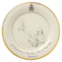 Lenox Pope Francis Commemorative Plate 2015 - $31.44