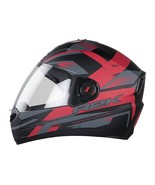 Steelbird-SBA-1-AIR R2K-FULL-FACE- BLACK RED  HELMET-for Safety Comfort ... - $77.06