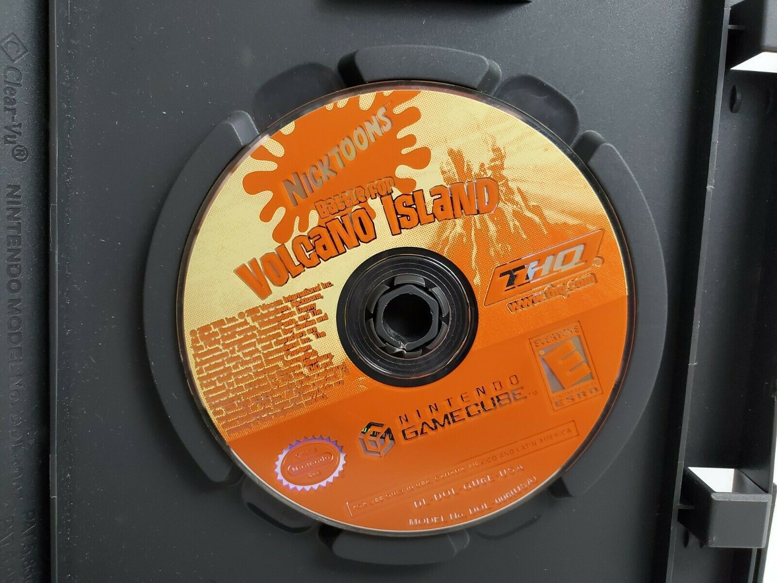 Primary image for Nicktoons Battle for Volcano Island Nintendo GameCube 2006 Disc Only Tested