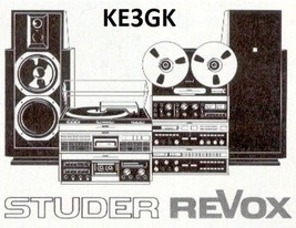 Studer Revox Service and Instruction Manuals * DVD * PDF - $9.99