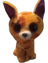 "Ty Beanie Boo Boos Pablo the Chihuahua Puppy Dog 9"" Purple Glitter Eyes - $14.99"