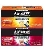Airborne Zesty Orange Very Berry 1000mg Vitamin C+ Immune Support 36 Eff... - $15.99