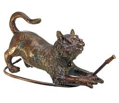 Raining Cats Piped Bronze Garden Statue (gf) - $1,485.00