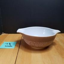 Pyrex Woodland Tan Cinderella Bowl 442 1 1/2  Quart - $8.86