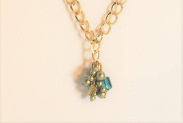 Green Iridescent Swarovski Pearl Pendant - $46.81 CAD
