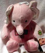 Carter's Smiley Happy Friends Sing & Dance Elephant Pink Baby ABC Song NEW - $18.99