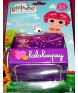 Lalaloopsy Stereo Speaker for all MP3 Players Purple Tippy Tumblelina + ... - $22.00
