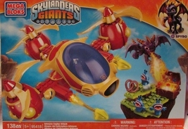 Mega Bloks Skylanders Giants Arkeyan Copter Attack 138 Pieces #95148 NEW - $28.00
