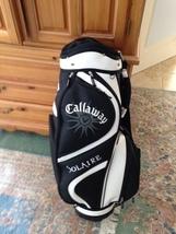 Callaway Solaire black & white golf bag beautiful condition & 1 dozen balls - $249.99