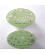 2 Colonial Candle Snaps/Tarts WHITE PEAR & CEDAR  for simmer pots - $7.00