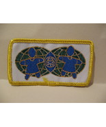 World Global Girl Guides Souvenir Badge Patch Crest - $2.99