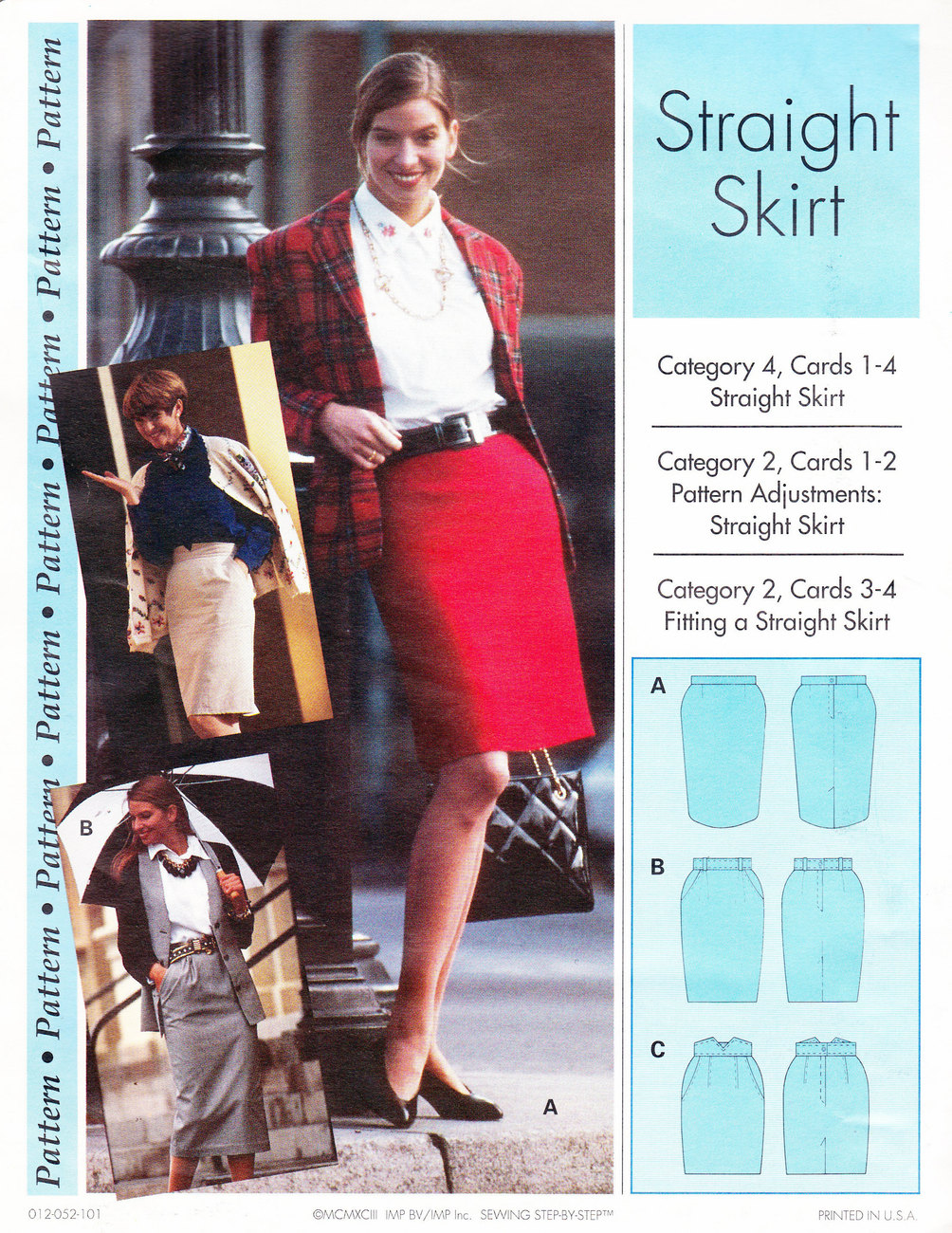 Primary image for UNCUT WOMEN'S CLOTHING SEWING PATTERN STRAIGHT SKIRT 14/22