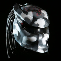 New Predator Helmet Grey Camo (Dot & Ece Certified) - $250.00