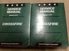 2004 CHRYSLER CROSSFIRE Service Shop Workshop Repair Manual Set OEM - $118.75