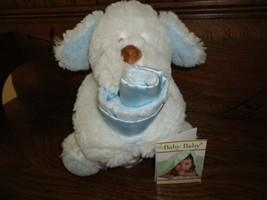 Blankets & Beyond Baby Swaddle Bag & Snuggly Dog w Blanket - $79.13