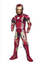 Rubies Avengers 2 Age Of Ultron Deluxe Iron Man Children Kids Halloween ... - $29.50