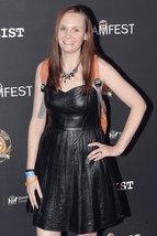 Beautyful Trysta A Bissett Designer Trendy Women Pure Leather Replica Dress