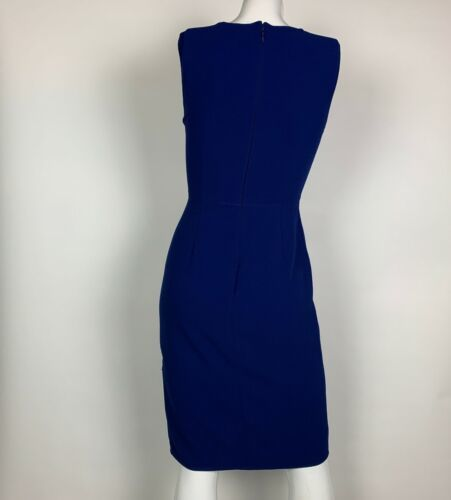 BCBG Maxazria Dress Blue Annabel cut out cocktail Sz 2