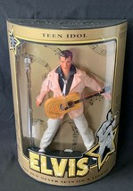 Elvis Presley Teen Idol Collectible Doll, Specially No, Cert of Authenti... - $42.97