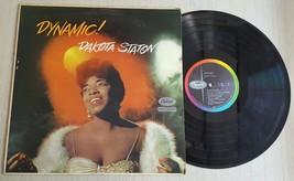 Dynamic! - Dakota Staton - Capitol Records - T-1054 - Vinyl Music Record - $5.93