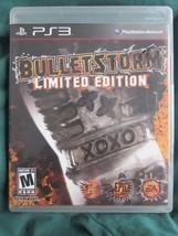 Playstation 3 PS3 Bulletstorm Limited Edition game - $9.90