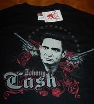 JOHNNY CASH 2 GUNS T-Shirt SMALL NEW w/ TAG - $19.80