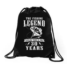 The Fishing Legend Reeling Them In For 30 Years Drawstring Bags - $30.00