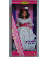 Puerto Rican Barbie (Collector Edition) Dolls of the World #16754 NRFB c1996 - $20.00