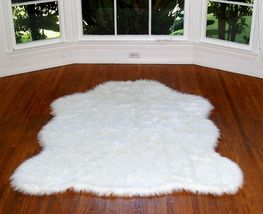 Faux White Arctic Polar Bear Rug Small - $59.00
