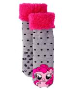 MY LITTLE PONY PINKIE PIE Plush Slipper Socks (US Girls Shoe Size 7.5 - ... - $10.99