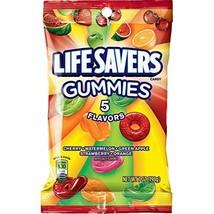 Life Savers 5 Flavors Gummies Candy Bag, 7 ounce - $8.98