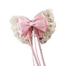 Handmade Hair Barrette Hair Pin Large Bowknot French Barrette Hair Clip Ribbon