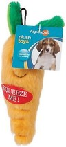 Aspen Pet Small Dog And Puppy Plush Small Carrot - $11.16